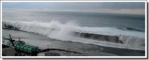 The tsunami arrives at Fukushima