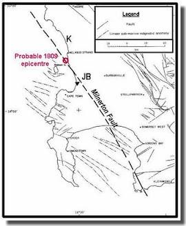 Milnerton fault line