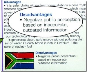 Nuclear poster - disadvantages