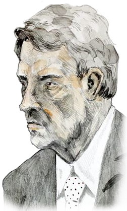 Drawing of Kelvin kemm